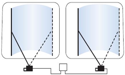 Система очистки стекла  2D