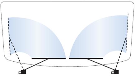 Система очистки стекла  1D