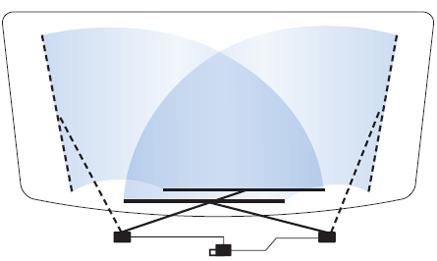 Система очистки стекла  1B