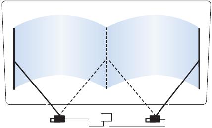 Система очистки стекла  2B
